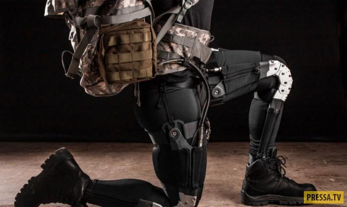 Экзоскелет представляет собой роботизированный костюм, усиливающий работу всех мышц человека. Такое