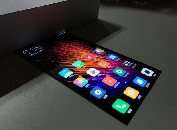 НаBaidu опубликовали рендер Xiaomi сгибким экраном