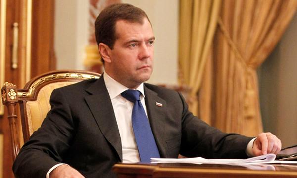Д. Медведев побывал настройке школы в17-м микрорайоне Оренбурга