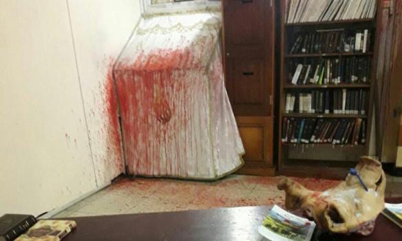 Вукраинской Умани неонацисты напали насинагогу