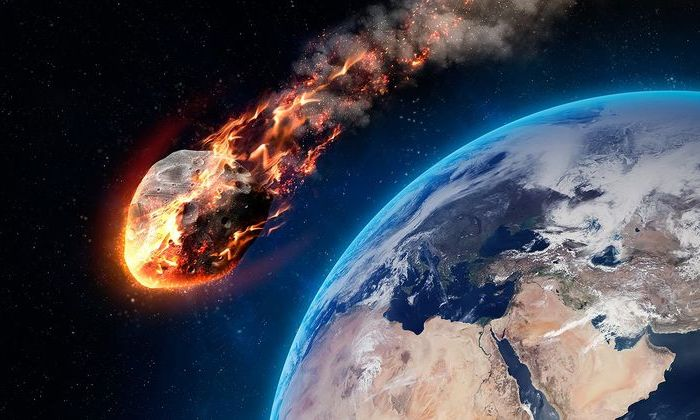 Прошедшим утром мимо Земли пронесся астероид размером савтобус
