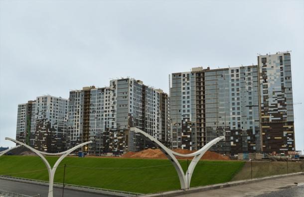 Замай вПетербурге введено на30% больше жилья, чем прошлом году