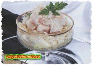 Салат с рыбой «Вечеринка»
