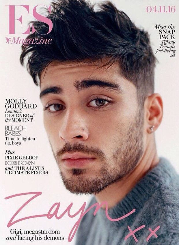 Zayn Malik Stars in ES Magazine November 2016 Cover Story