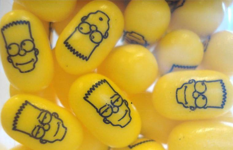 The Simpsons are now cute Tic Tac
