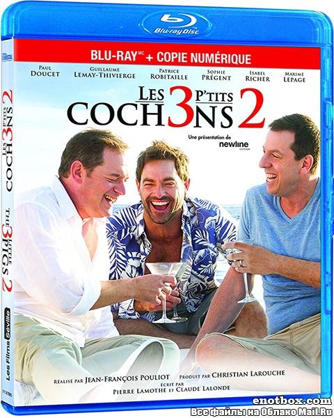 3 счастливых поросенка / Les 3 p'tits cochons 2 (2016/BDRip/HDRip)