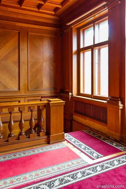 Холл второго этажа, дача Сталина в Сочи