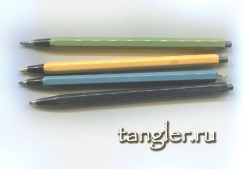 Цанговые акварельные карандаши моей молодости