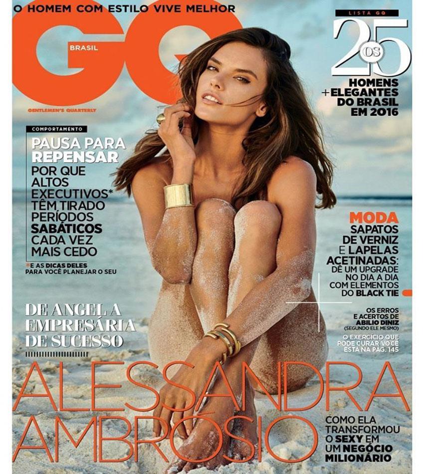 Alessandra Ambrosio - GQ Brazil (November 2016)