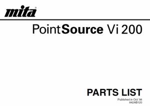 Инструкции (Service Manual, UM, PC) фирмы Mita Kyocera - Страница 3 0_13926f_6f919728_orig