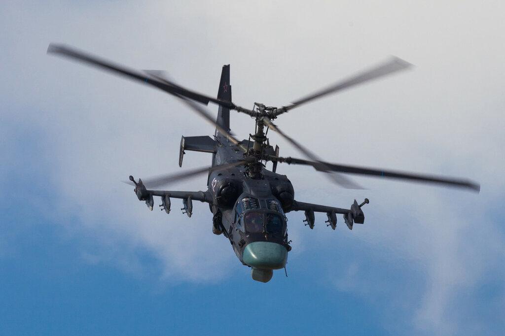 Ка-52, пилотаж