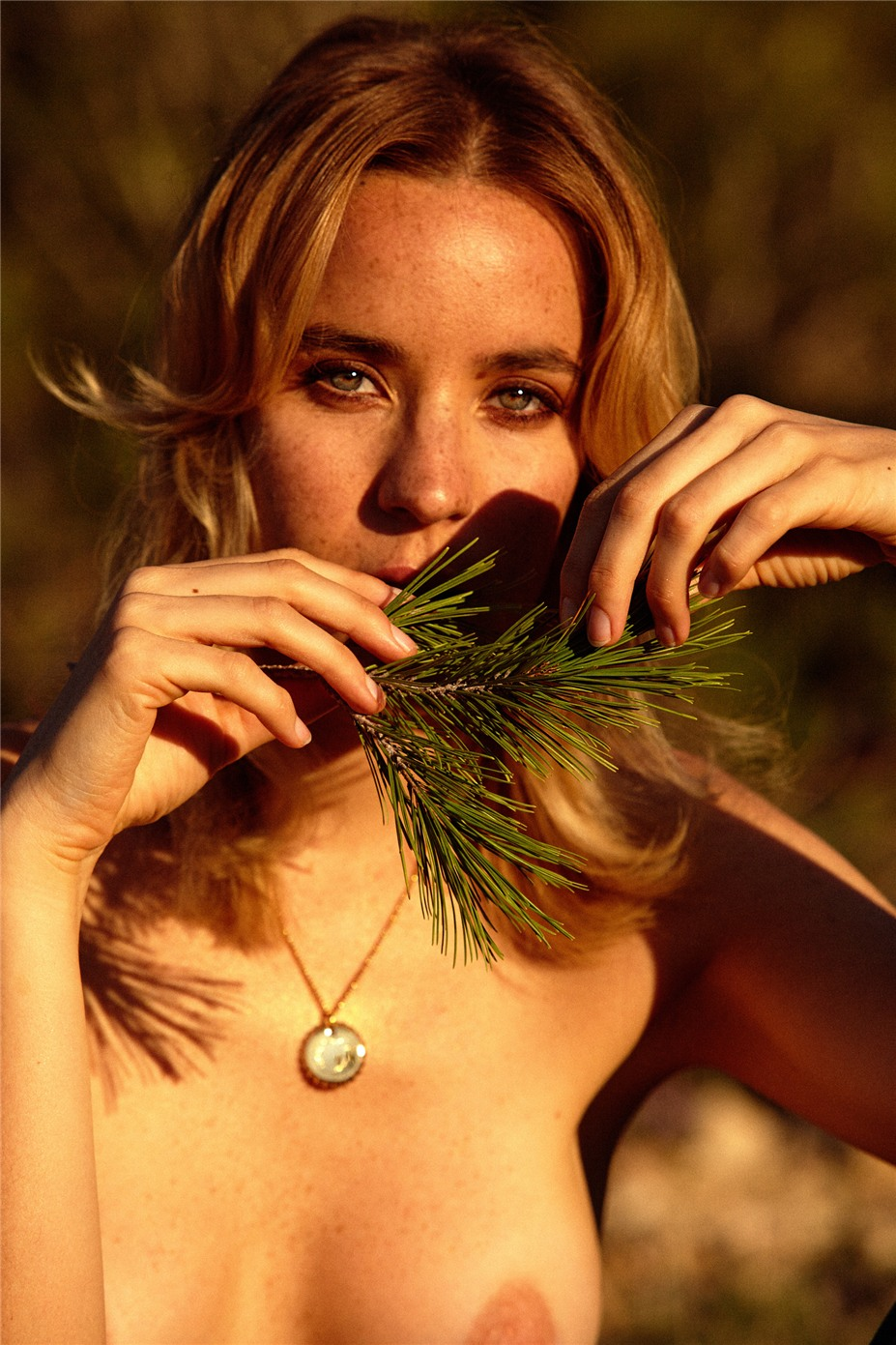 Обнаженные девушки на пляжах Ибицы / Ibiza Nudes by Diane Betties - Nuria Freckles