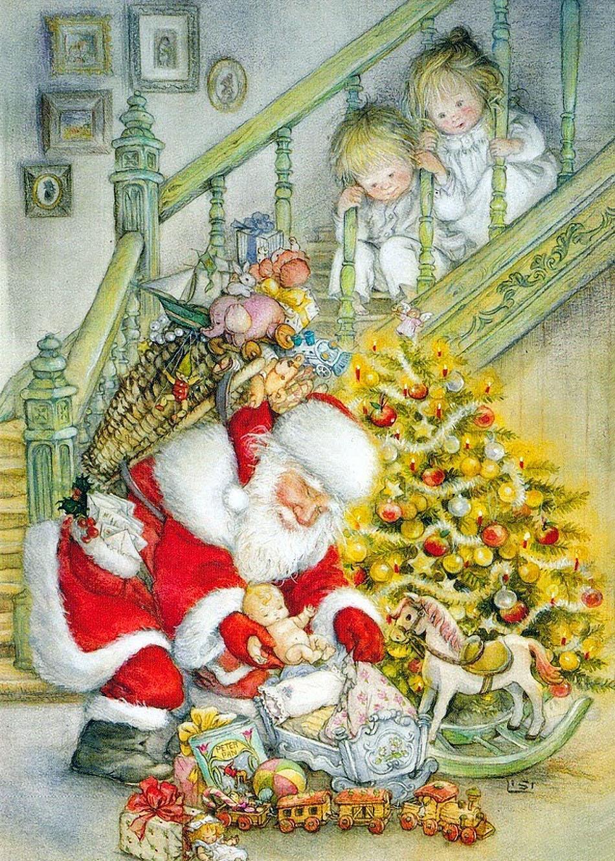 Рождество детские открытки, днем ильи