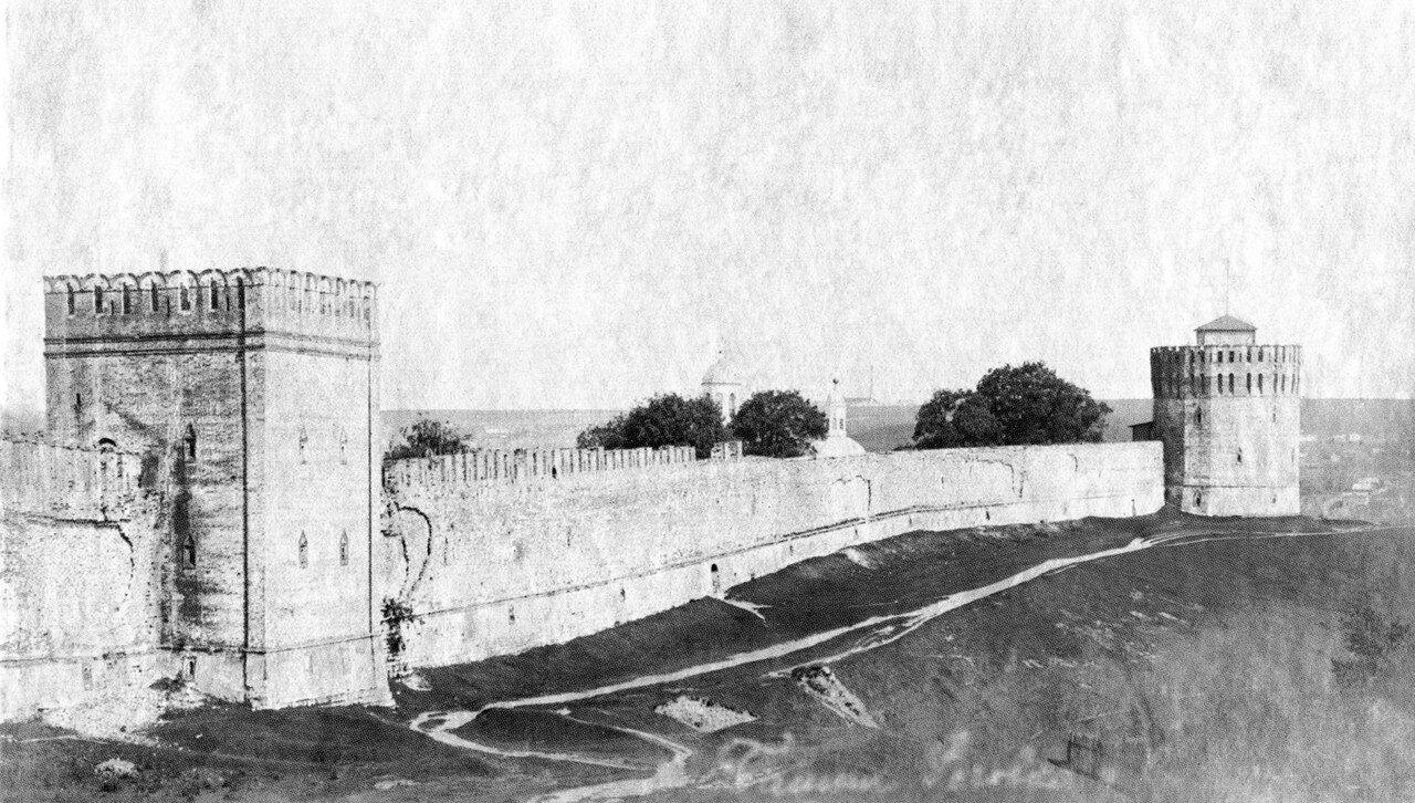 Башни Роговка и Веселуха. 1911