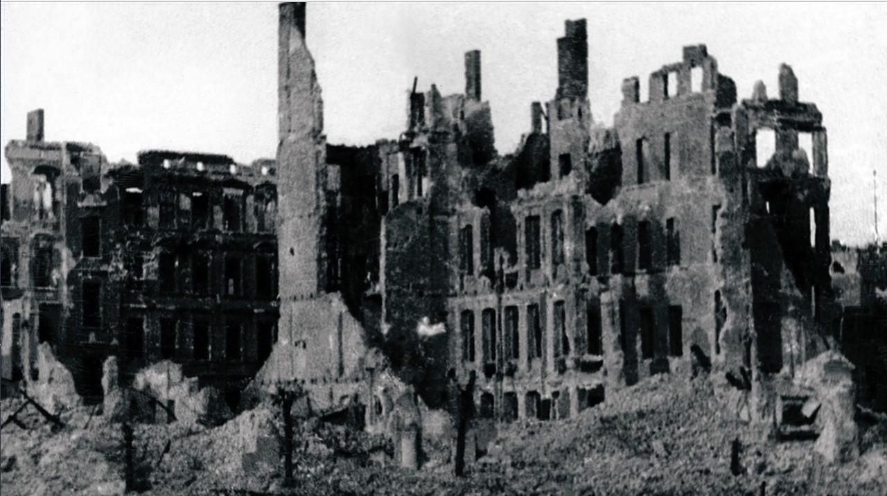 Руины Рейхсканцелярии