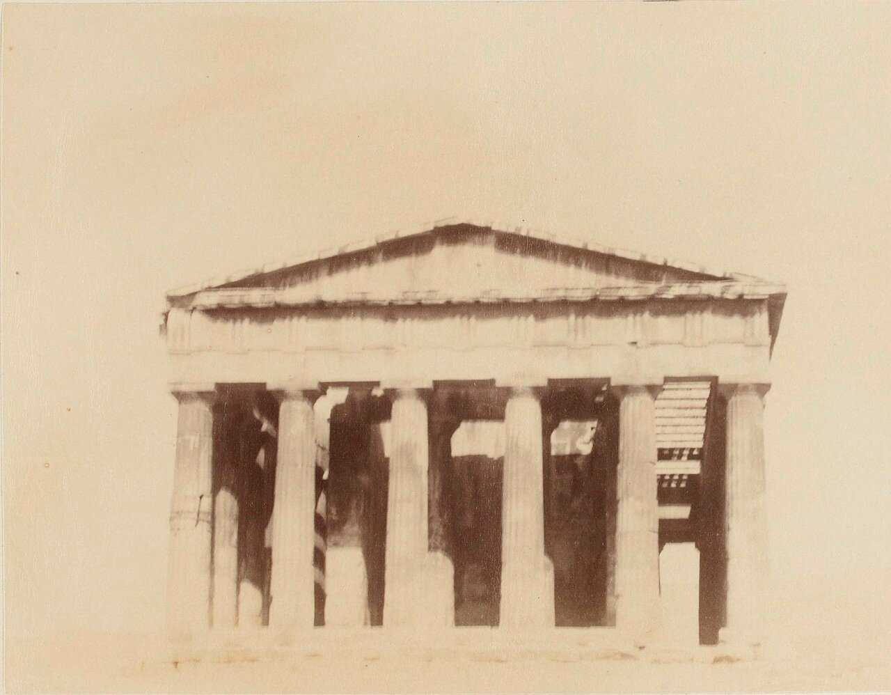 56. Афины. Фасад Гефестиона