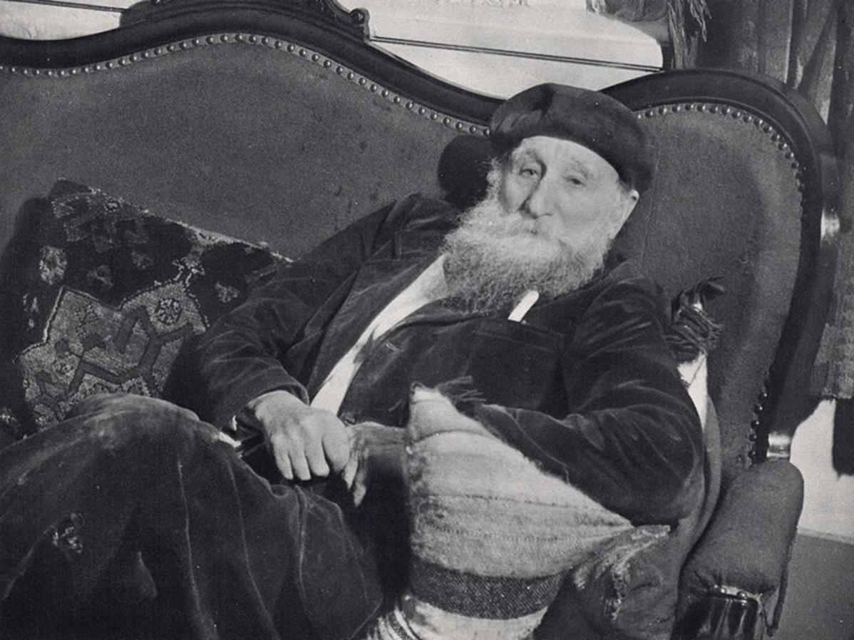 1937. Бездельничающий Аристид Майоль
