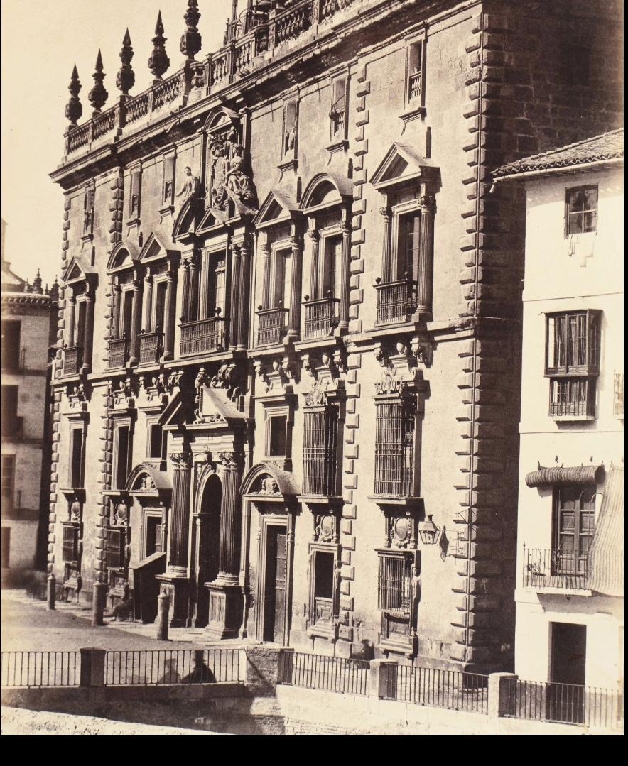 1854. Испания. Гранада, Канцелярия