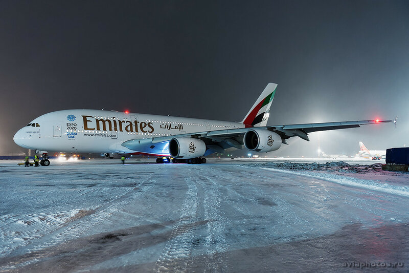 Airbus A380-861 (A6-EDT) Emirates 205_D706719
