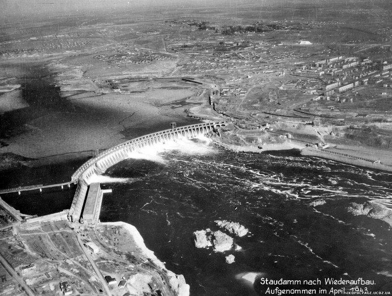 восстановленный днепрогэс с воздуха апрель 1943 года.jpg