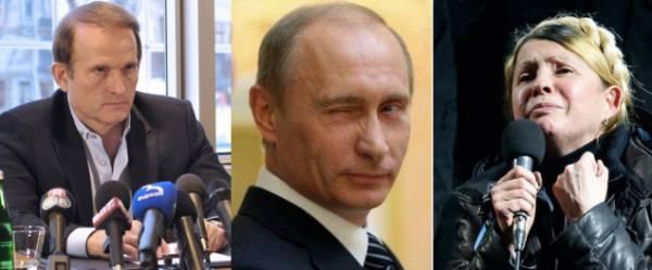 По плану Кремля: Тимошенко - президент, Медведчук-премьер-министр, - профессор