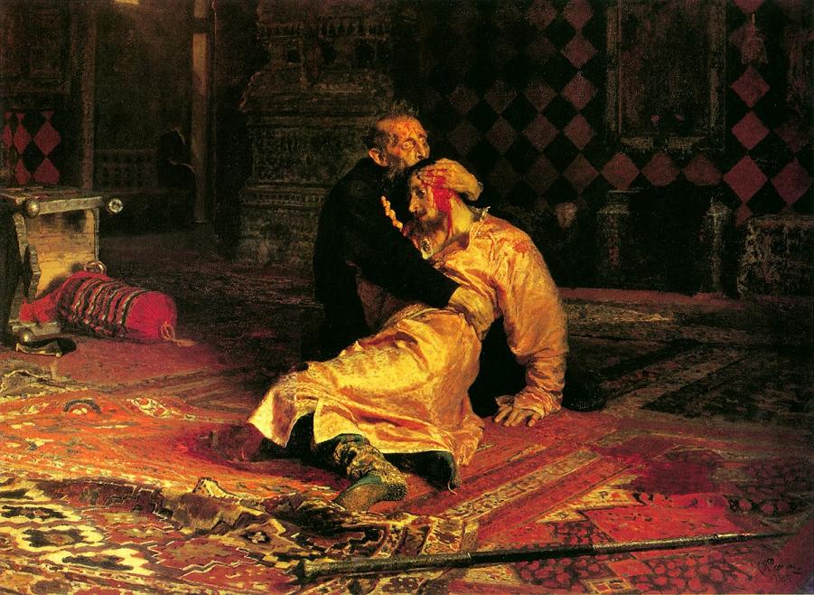 Илья Репин Иван Грозный и сын его Иван.png