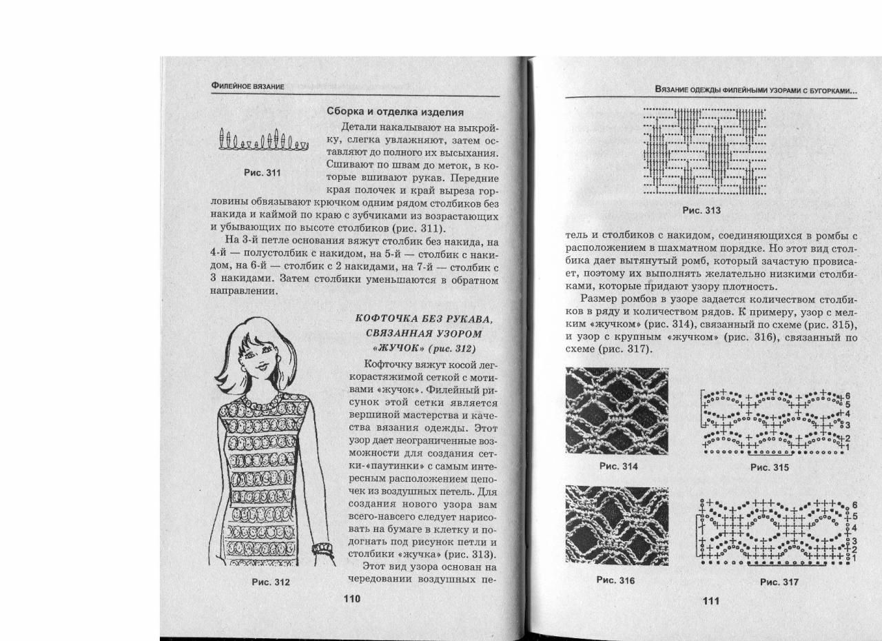 Вязание дневники по филейному вязанию
