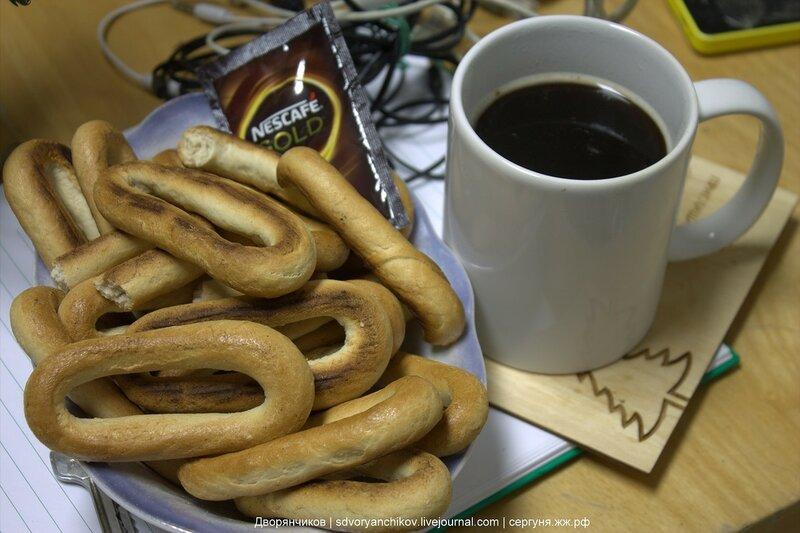 Сушки и кофе - 27 марта 2017