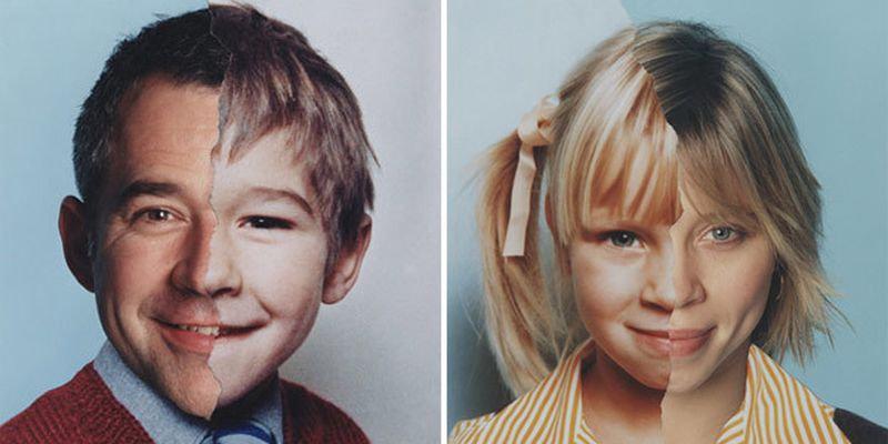 Фотопроект AgeMaps: как меняется лицо человека с возрастом (20 фото)