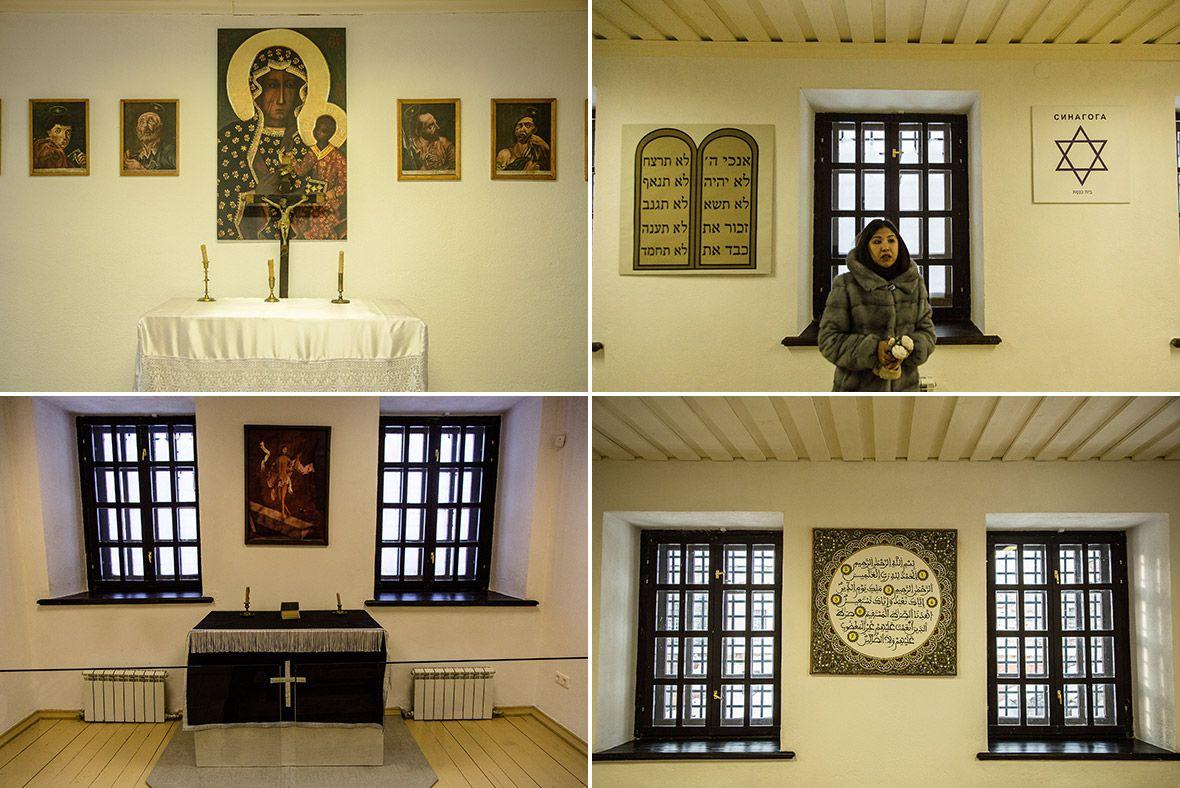 До прихода к власти большевиков в тюремном замке было четыре молитвенных комнаты: для христиан, евре