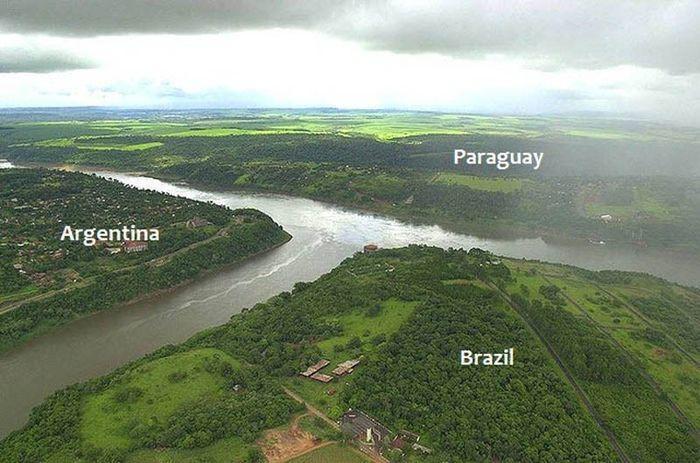 3. Аргентина, Бразилия и Парагвай