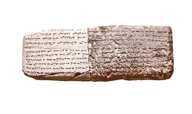 14. Самые старые ноты (3400 лет). Самая старая записанная мелодия была найдена в Угарите, который се