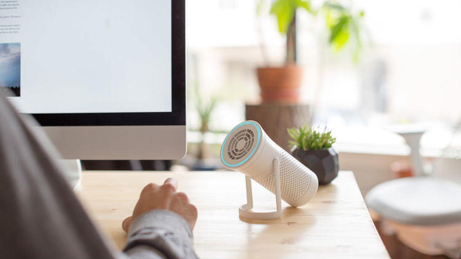 24. Персональный очиститель воздуха Wynd — портативный фильтр, который поглощает все загрязнения воз