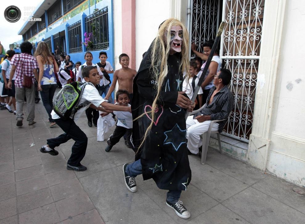 Никарагуанская ведьма. (REUTERS/Oswaldo Rivas)