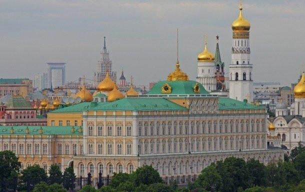 11. Кремль, Россия Этот исторический комплекс в самом центре Москвы является официальной резиденцией