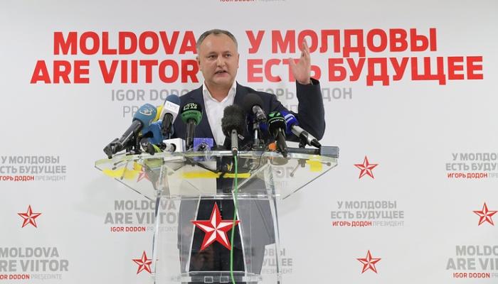 Назарбаев поздравил Додона сизбранием напост президента Молдавии