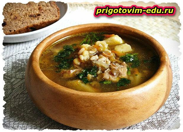 Воспапур - чечевичный суп