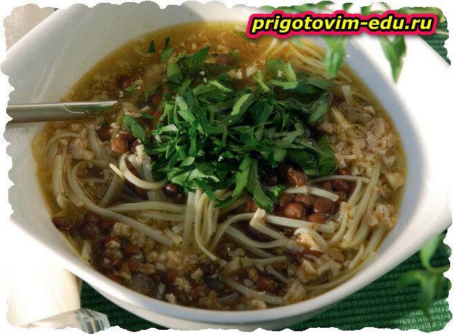Суп Воспапур с лапшой