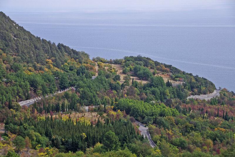 Крым. Море. Дороги