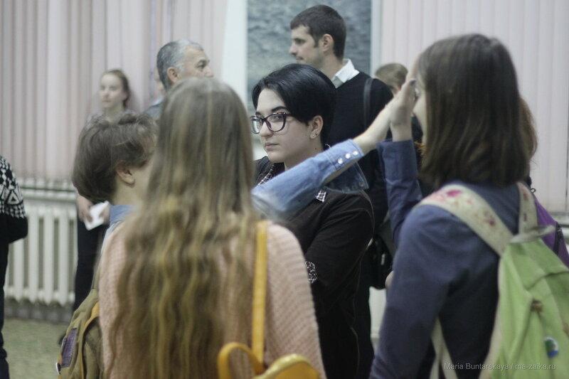 Домой с небес, Саратов, Боголюбовское училище, 16 ноября 2016 года