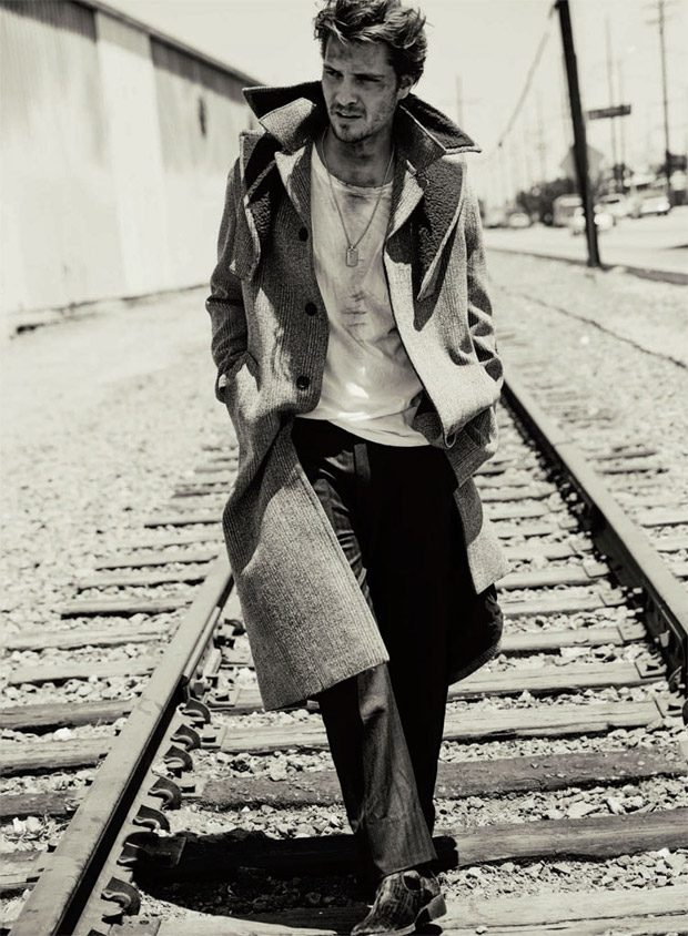 Luke Grimes in True Grit for C Magazine by David Roemer