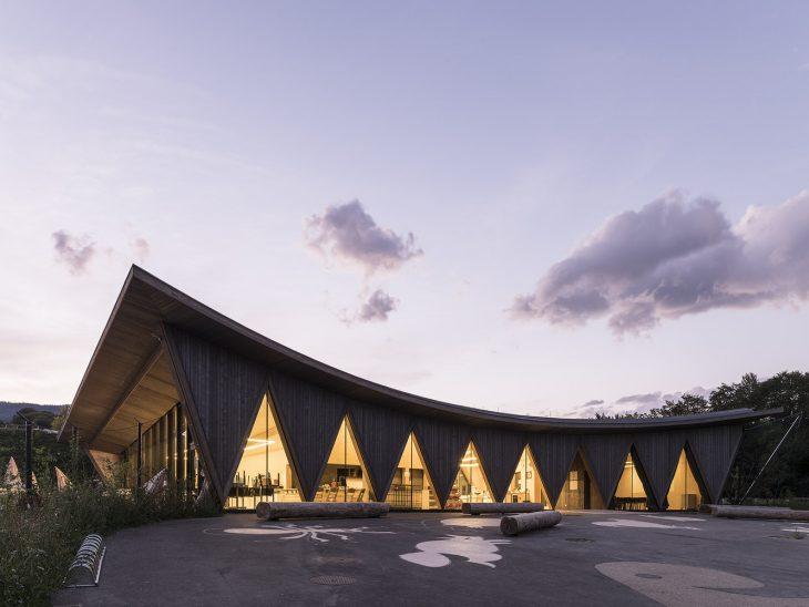 Public Pavilion of New Zoological Park La Gavenne by LOCALARCHITECTURE (13 pics)