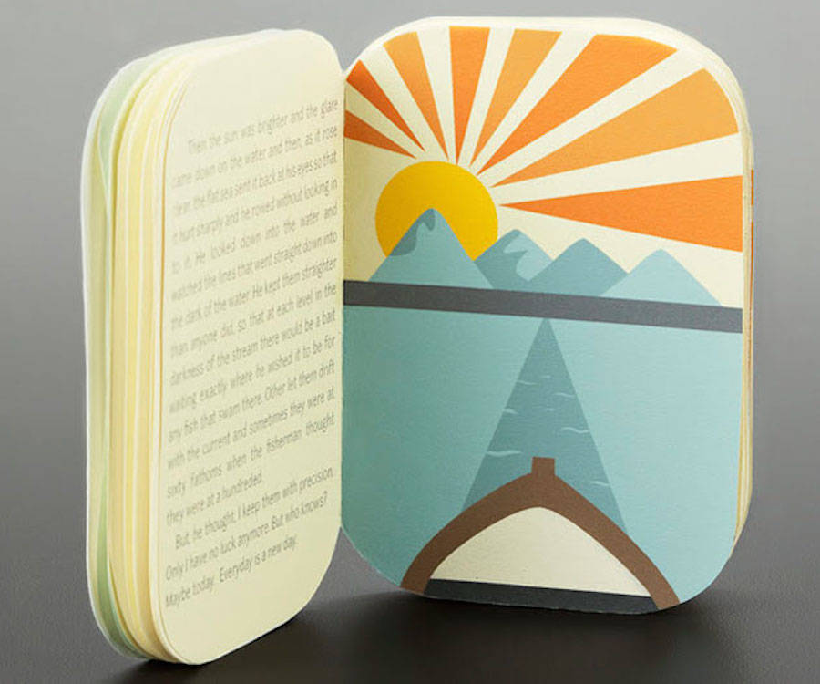 Tiny Book Packaged in a Sardines Tin