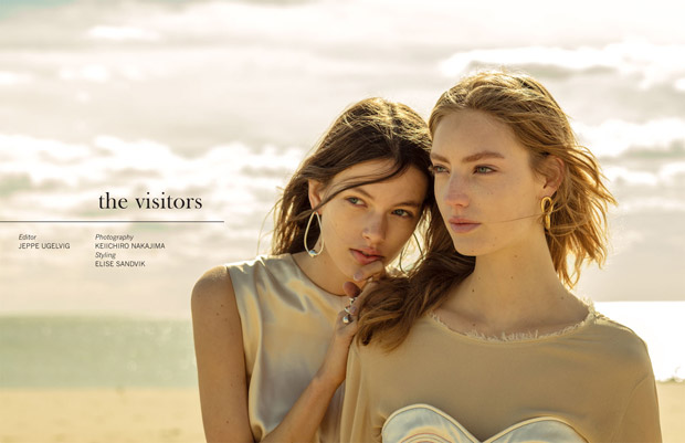 The Visitors: Susanne Knipper & Anniek Abma Pose for Dansk Magazine
