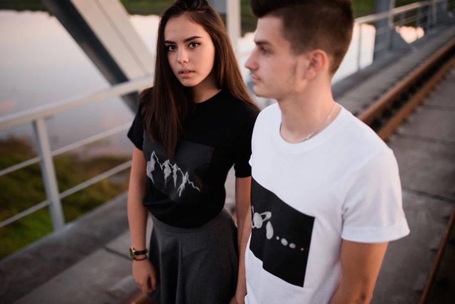Creative Chalkboard T-shirts