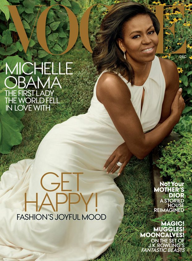 Michelle Obama Is VOGUEs December Cover Girl