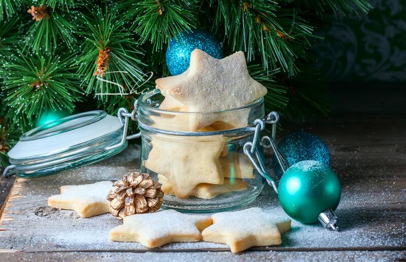 """Песочное печенье """"Новогоднее"""""""