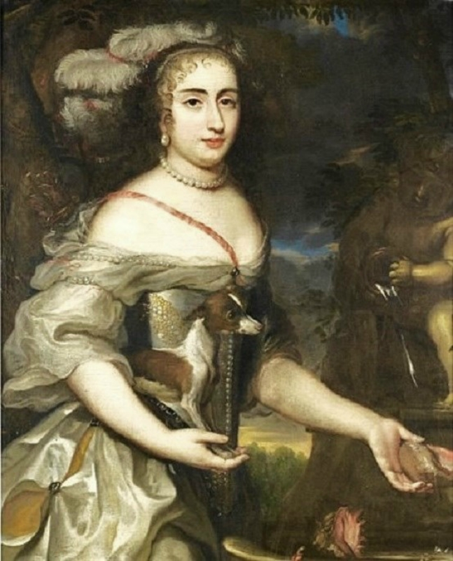 1650 Jan van Mijtens (1613-1670) Lady as Diana.Jpeg