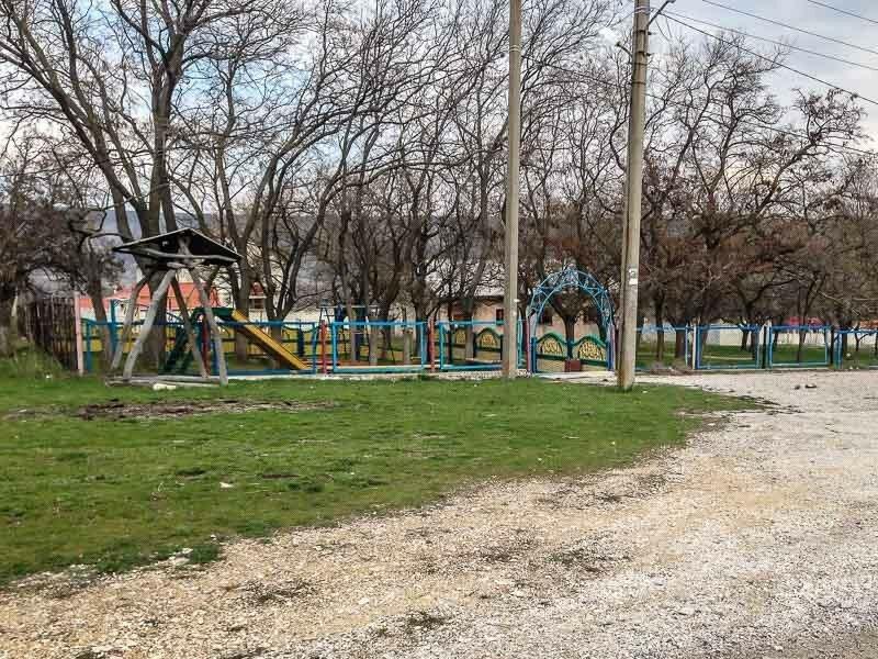 Детская площадка в селе Наниково