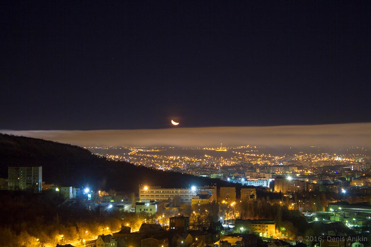 Ночная панорама Саратова фото 4
